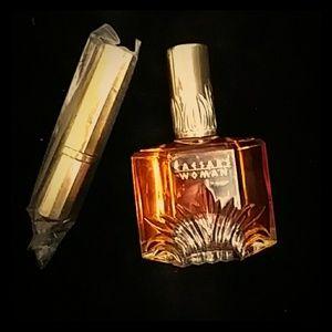 1980s Caesars Extravagant parfume w/ refilable tra